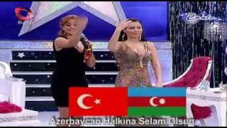 Download Lagu Azeri Kizi Gunel - Biz iki devlet, bir milletik . Gratis STAFABAND