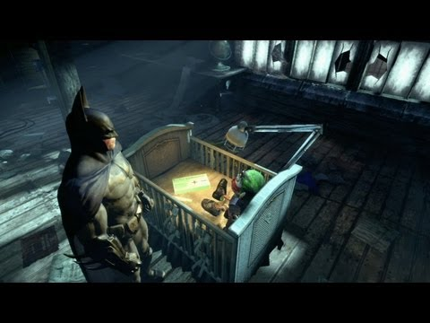 Batman: Arkham City - Demon Spawn Easter Egg Part 2