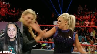 WWE Raw 9/12/16 Dana  Brooke Turns on Charlotte
