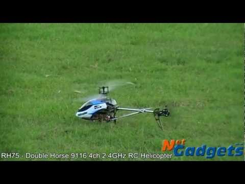 RH75 - Double Horse 9116 4channel 2.4GHz RC Helicopter
