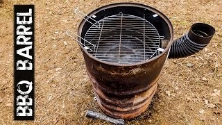 DIY BBQ Barrel - First Test