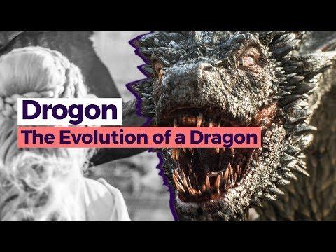Evolution Of Drogon Game Of Thrones Season 1 7