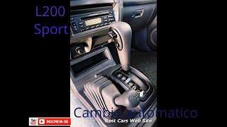 APRENDA DIRIGIR MITSUBISHI L200 SPORT 4X4 Câmbio automático.