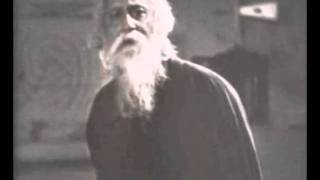 Rabindranath Tagore filmed reciting the National Anthem of India