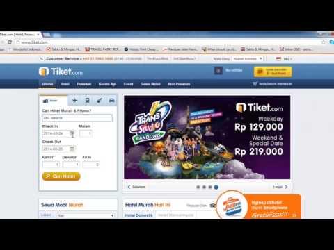 Cara Booking Hotel Murah di Jakarta Lewat Tiket.com Promo Hotel 2014