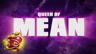 Queen of Mean 👑| Lyric Video  | Descendants 3
