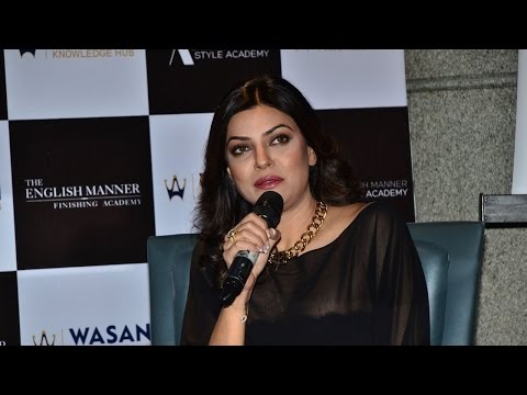 Sushmita Sen Reacts On  Gauahar Khan's Slap Incident video