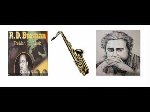 Ye Sham Mastani Madhosh Kiye - Saxophone video