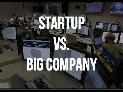 Startup vs. Big Company For An Engineer