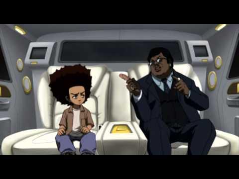 The Boondocks Hd 2x14 - Lo Sciopero Della Fame [ita] video