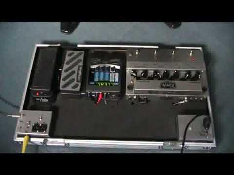 Super pedal board with a Koch pedaltone