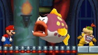 New Super Mario Bros DS Walkthrouh - Part 3 - World 3