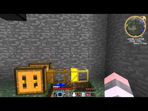 How to make a completely automatic apiary bee farm [Minecraft] [Forestry]