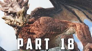 GOD OF WAR Walkthrough Gameplay Part 18 - CHAINED DRAGON (God of War 4)
