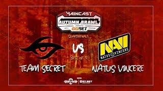 [DOTA 2 LIVE PH] Team Secret VS Natus Vincere  Bo3  Maincast Autumn Brawl