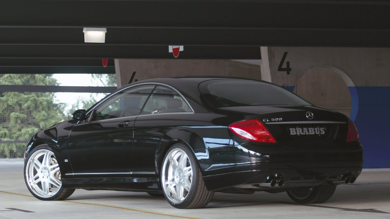 Brabus mercedes benz cl coupe 2007 youtube