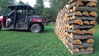 #67 How To Stack Firewood Like A BOSS!