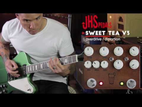JHS Sweet Tea V3 - distortion pedal demo by RJ Ronquillo