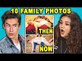 download mp3 dan video 10 THEN and NOW Family Photos! (React)