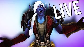BFA PATCH 8.1 IS HERE! - WoW: Battle For Azeroth (Livestream)