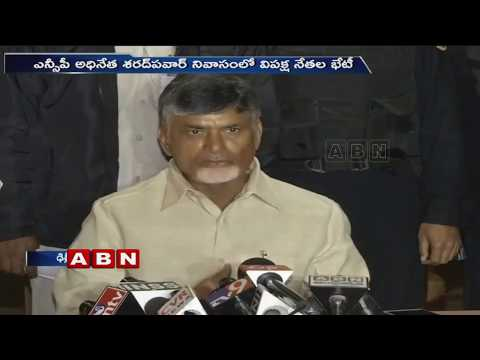 CM Chandrababu Naidu speaks to Media over YS Jagan and BJP Comments