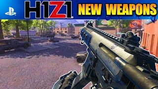NEW WEAPONS COMING TO H1Z1 PLAYSTATION 4!?