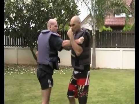 Krav Maga Lesson - Knife Defense Default Position Krav Maga Image 1
