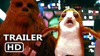 "STAR WARS 8 ""Chewbacca Hits Cute Porg"" Trailer (2017) Disney Movie HD"