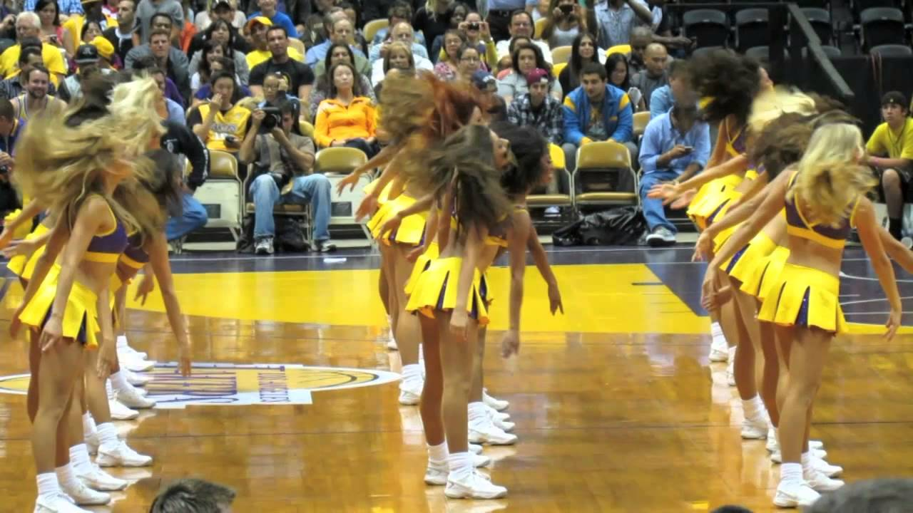 Laker Girls 2012 Dance - YouTube