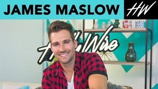 JAMES MASLOW Gives us a SINGING TUTORIAL and Talks Dancing with the Stars !!