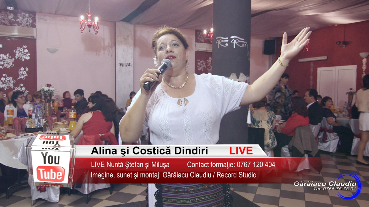 Alina Dindiri | Colaj SARBA LIVE | Nunta Stefan si Milusa | Muzica de Petrecere