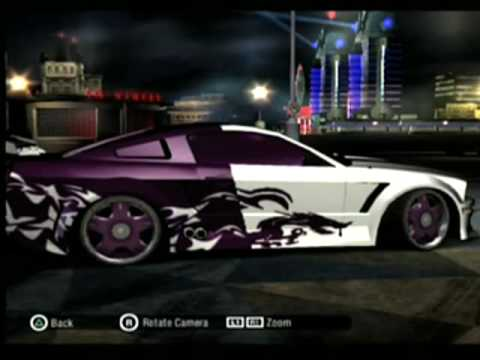 Nfs Carbon My Cars Youtube