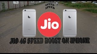 Hindi || how to increase jio 4G speed in IPhone ! does it work?  4K