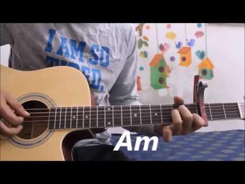 Uska hi Banana - Arijit Singh - 1920 Evil Returns - Guitar cover lesson hindi easy chords