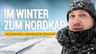 Mit dem Wohnmobil im Winter zum Nordkap und zurück - ein Roadmovie [HD 2018]