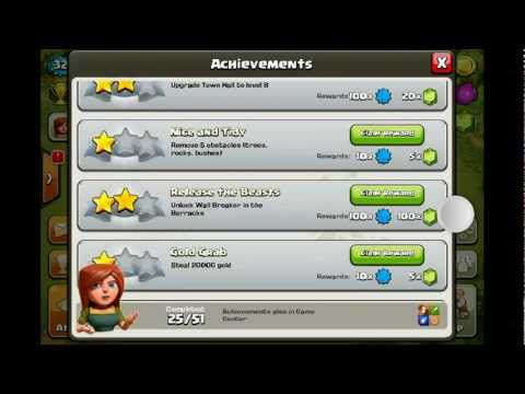 Clash of clans gem glitch