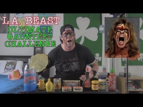 The Ultimate L.a. Beast Gauntlet Challenge (r.i.p. Ultimate Warrior) video