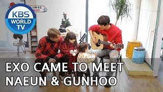 Why did EXO come to meet Naeun and Gunhoo?? [The Return of Superman/2018.12.30]