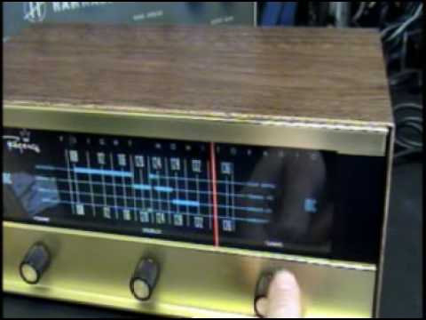 Demo of a Regency AirCraft Receiver Ham Radio Pilots Love These Rare Bird Tube Type