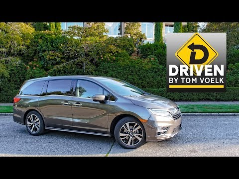 2018 Honda Odyssey Elite Car Review