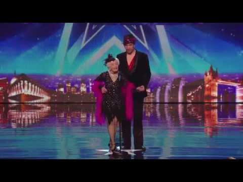 Paddy 80 Years Old & Nico- Electric Ballroom (salsa)  Britain's Got Talent 2014 Audition video