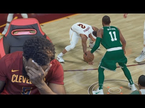 KYRIE IRVING CROSSES ISAIAH THOMAS! WOW!! NBA 2K18 MyCareer