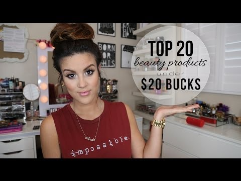 Top 20 Beauty Products Under $20 Bucks