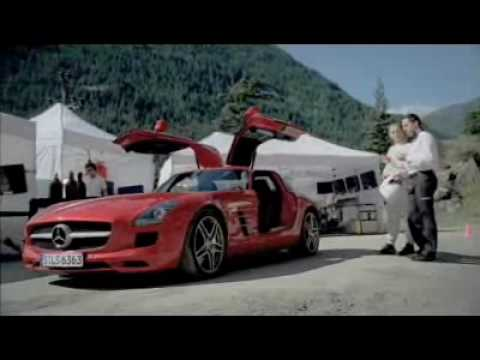 Retarded Mercedes SLS (Mercedes-Benz)