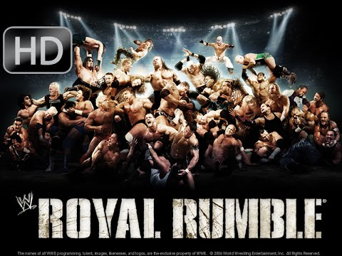 Wwe Royal Rumble 2009 The Royal Rumble Match video