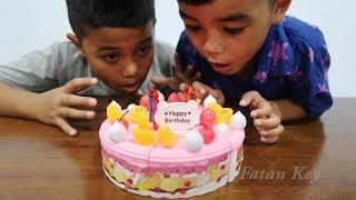 Mainan Kue Ulang Tahun Lucu Banget 🎂 Unboxing Mainan Anak