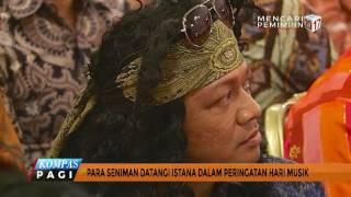 Download Lagu Para Seniman Datangi Istana Dalam Peringatan Hari Musik Gratis STAFABAND