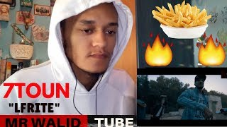7-Toun - LFRITE ( OFFICIEL MUSIC VIDEO ) / REACTION VIDEO