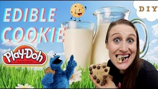 How To Make Edible Cookie Play Doh - Kid Friendly Cookie Dough That is Safe To Eat!