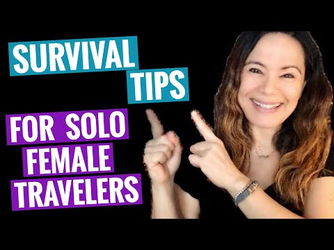 Survival Tips for Solo Female Travelers #solotravel #traveltips #femaletravel #womentravelers